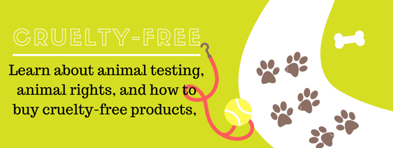 Cruelty-Free products animal testing animal rights