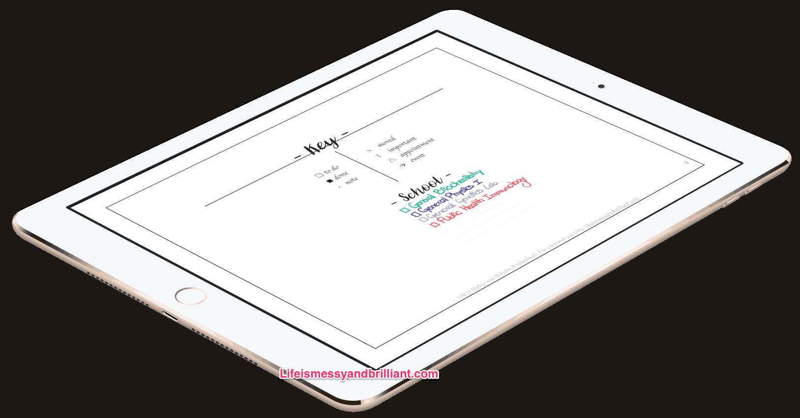 My Digital Bullet Journal