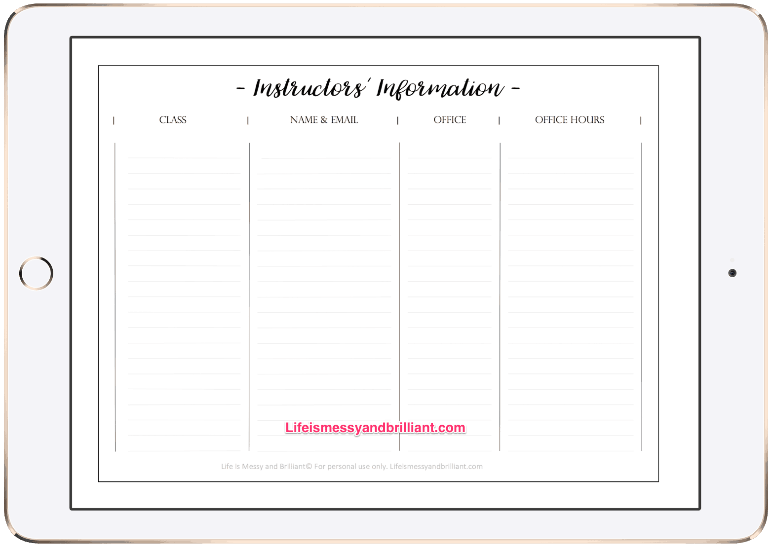 photograph regarding Bullet Journal Key Printable referred to as No cost College or university Bullet Magazine Printables