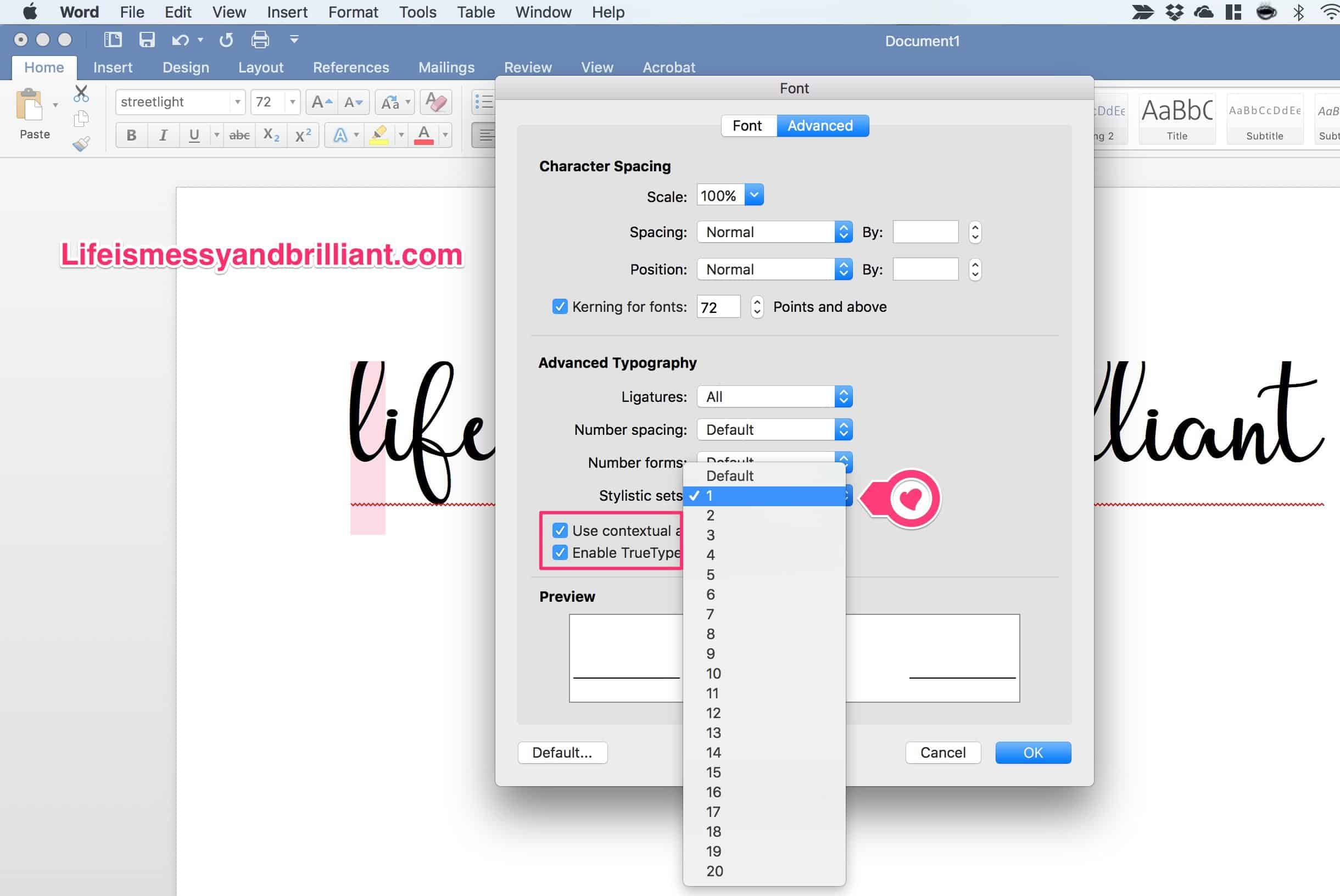 How to Add Styles to Fonts Using Microsoft Word