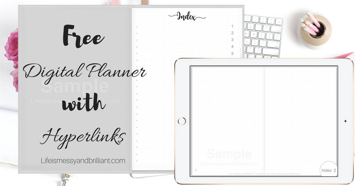 graphic about Digital Planners and Organizers identify Totally free Electronic Planner with Backlinks
