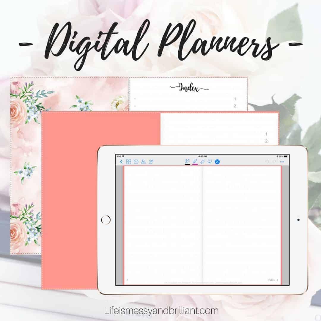 Gratifying image pertaining to free digital planner pdf
