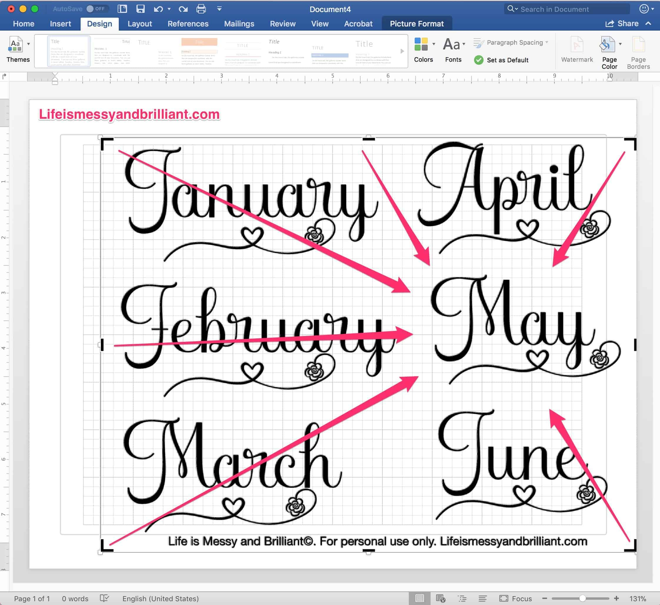 How to print stickers in microsoft word