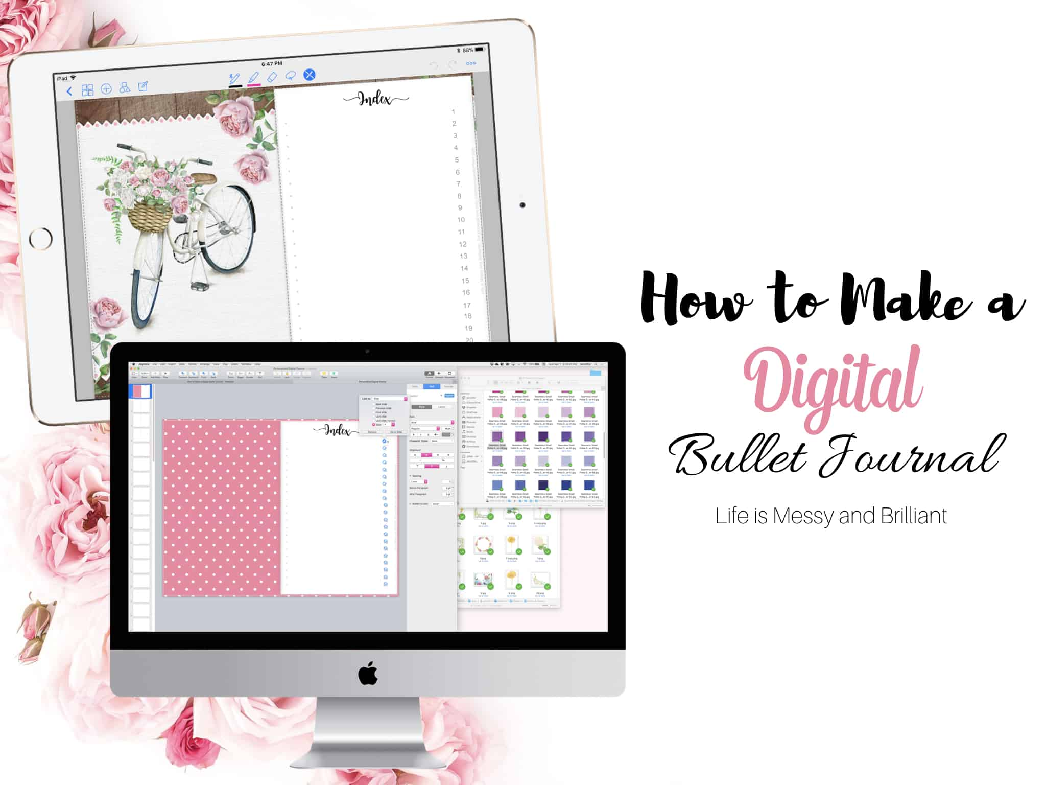 Digital Planner Tutorials for GoodNotes and Notability