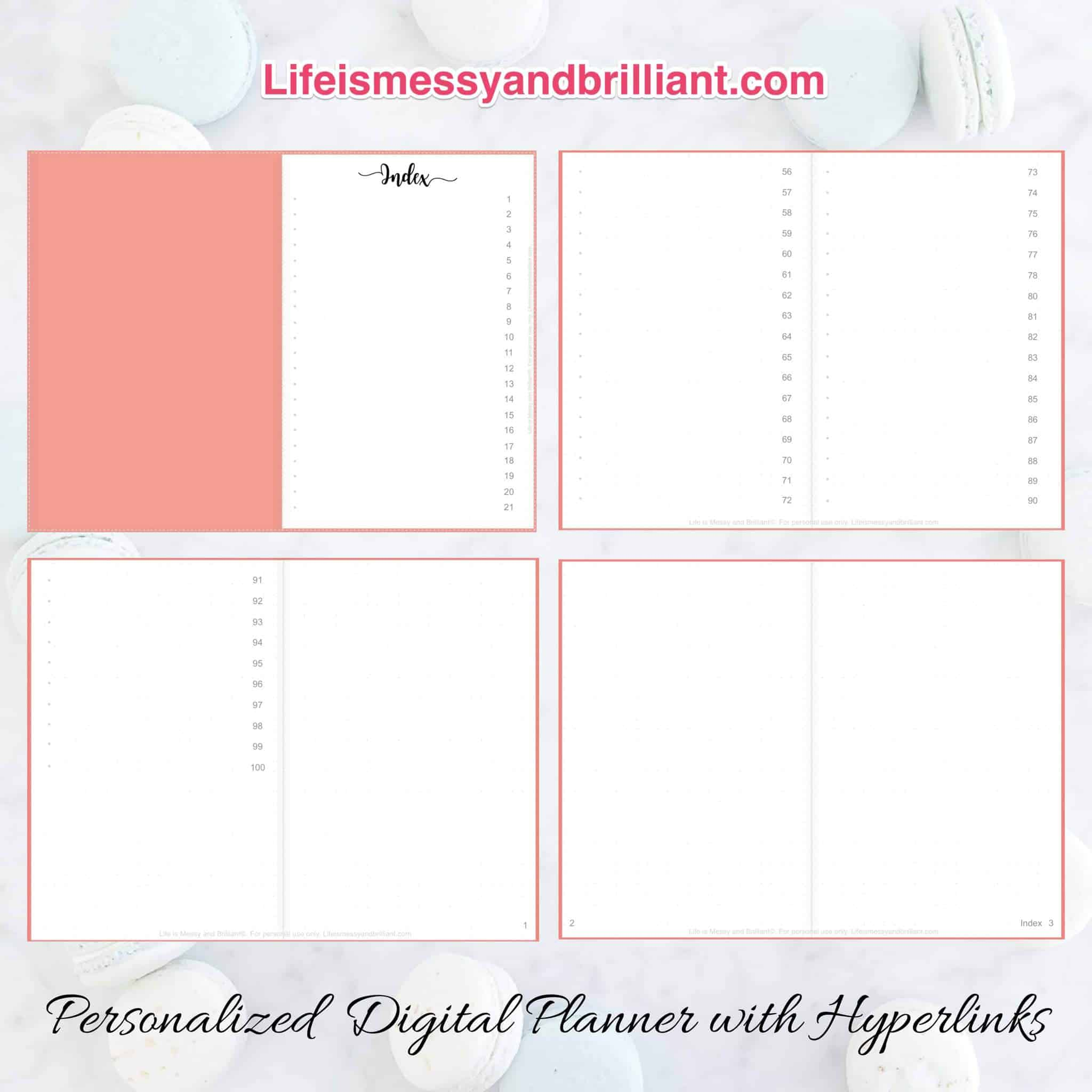 How to Make a Digital Planner with Hyperlinks