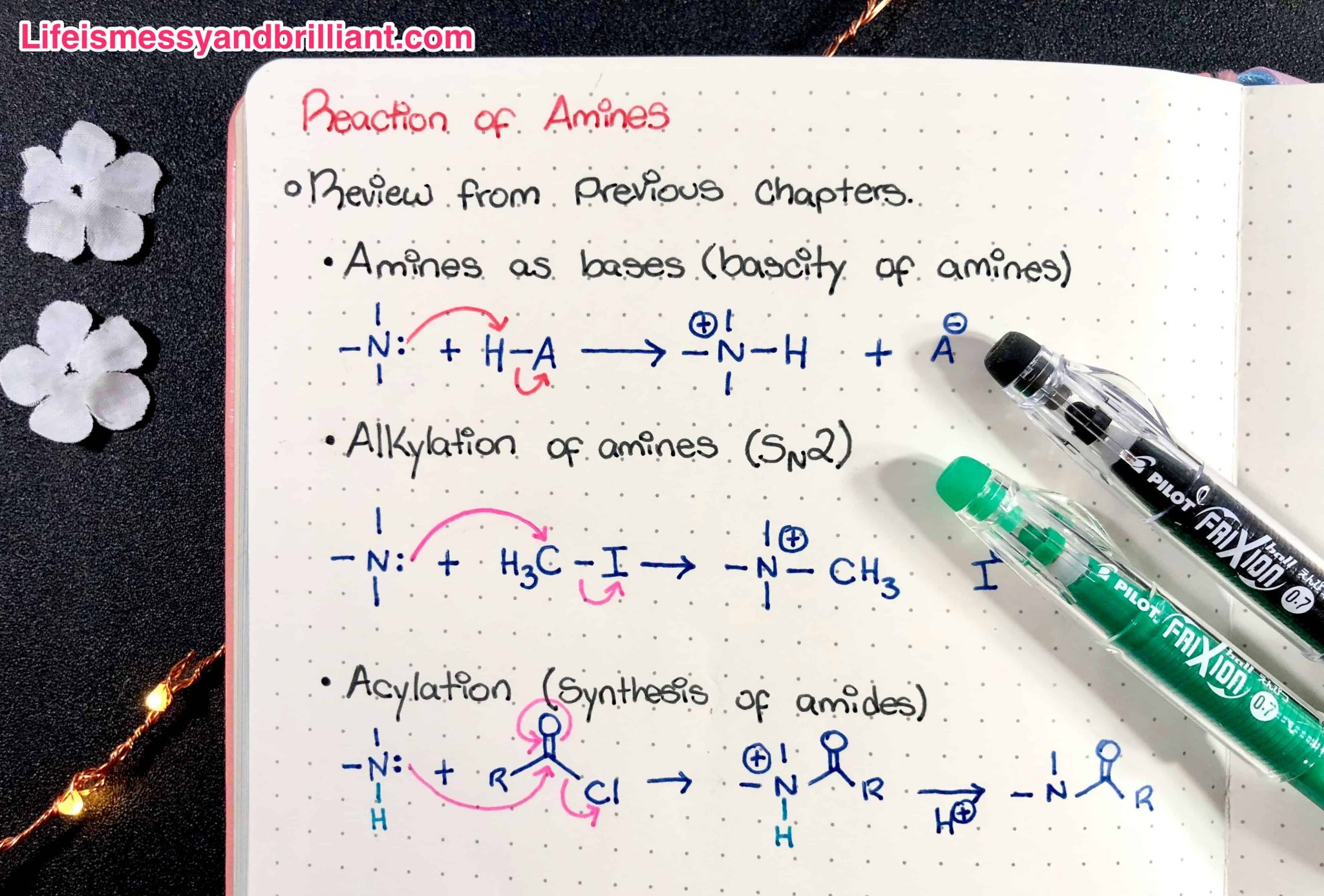 Review Pilot Frixion Erasable Pens Tombow Twintone Markers