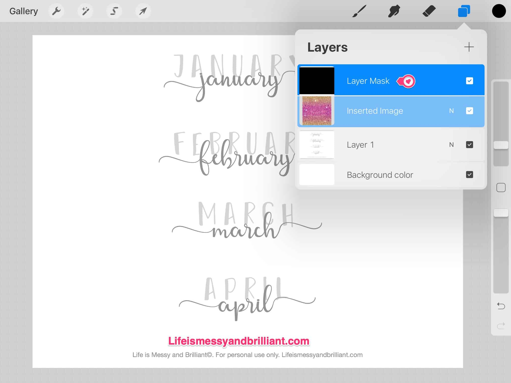 How to Use Procreate to Practice Hand Lettering